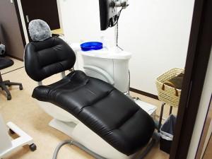 最新の院内設備 革張り椅子