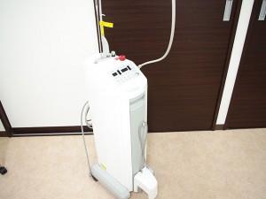 最新の院内設備 歯科用レーザー